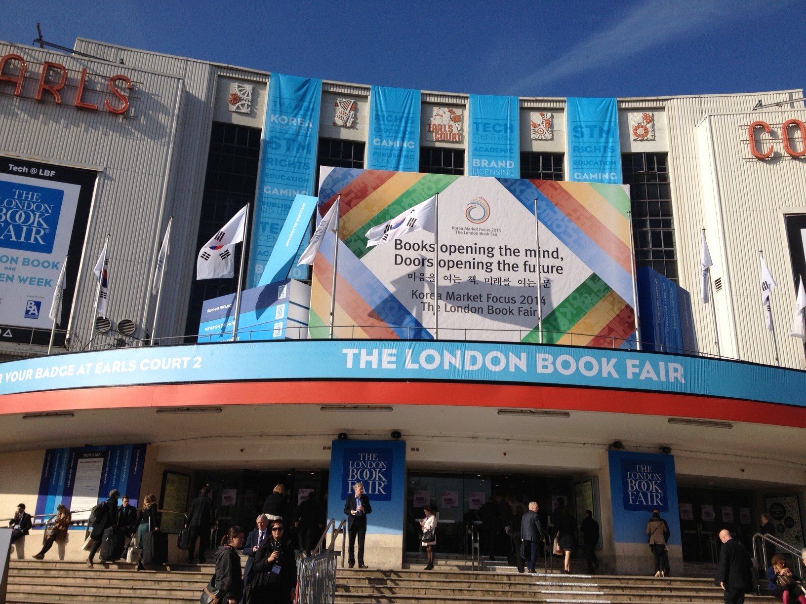 London Book Fair, 2014